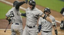 Stanton, Yankees power way to 9-3 win against Rays in opener