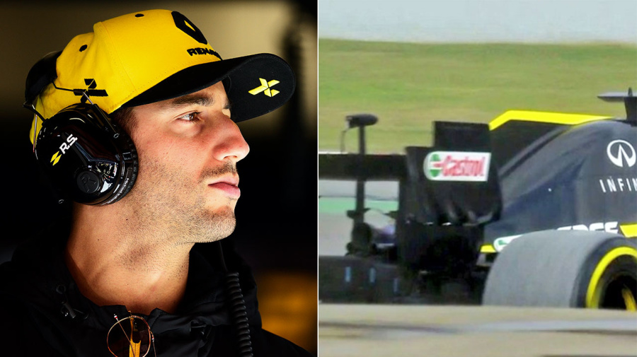 Ricciardo suffers new mishap in horror start to Renault career