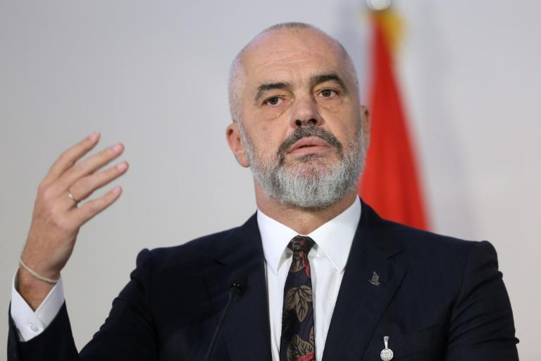 Albanian Prime Minister Edi Rama called Handke 'a disgraceful choice' for the Nobel prize (AFP Photo/OLIVER BUNIC)