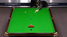Snooker legend shocks fans with 'never-before-seen' shot