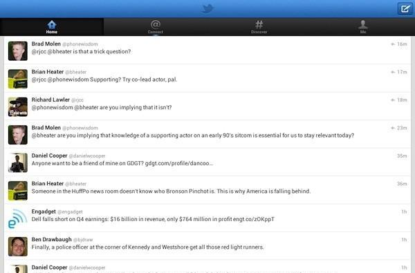 Twitter's Android and iOS app get updates; out on Kindle Fire now, Nook soon