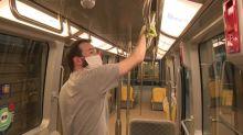 Covid-19 : les métros n'ont jamais étés aussi propres