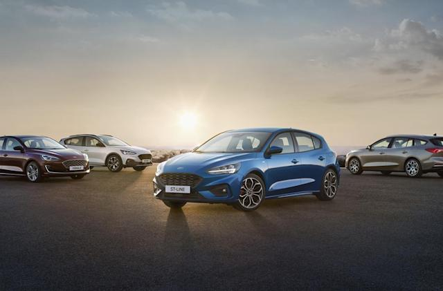 Ford's new Focus pulls in Co-Pilot360 driver assists