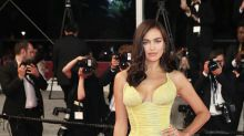 New Mom Irina Shayk Glows in Canary Yellow at Cannes