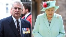 Prince Andrew in 'crisis talks' with Queen over Epstein scandal