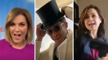 Rebecca Gibney leads Aussie celebs in huge online singalong