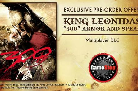 This is madness: GameStop God of War: Ascension pre-order perk is '300' DLC