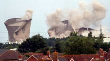 Didcot power plant: Safety watchdog looking into tower demolition after three injured in explosion