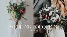 花球也要轉季?看看這 30 讓你心動的冬日限定新娘花球!