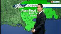 Heavy rain and flash flooding possible