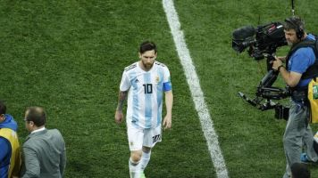 World Cup 2018: Argentina coach Jorge Sampaoli shoulders blame for failing to bring best from Lionel Messi