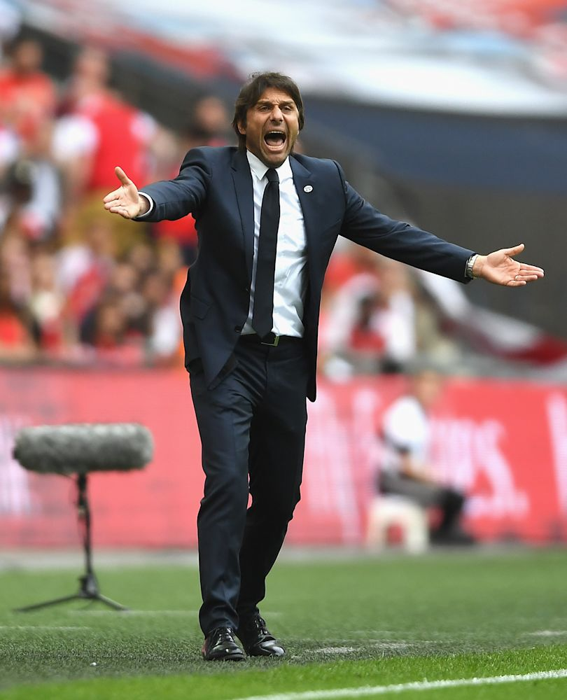 Antonio Conte has missed out on his first striker option so now needs a big-name buy