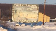 Love it or hate it, this is Inuvik's new town sign