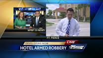 La Quinta Inn has been robbed before