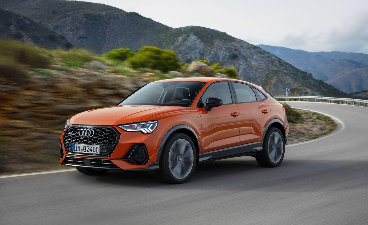 See Photos Of The 2020 Audi Q3 Sportback