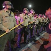 Protests after unarmed black man shot dead by US police