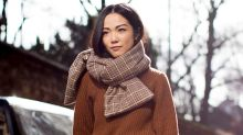 Chic Scarves To Bundle Up In This Winter