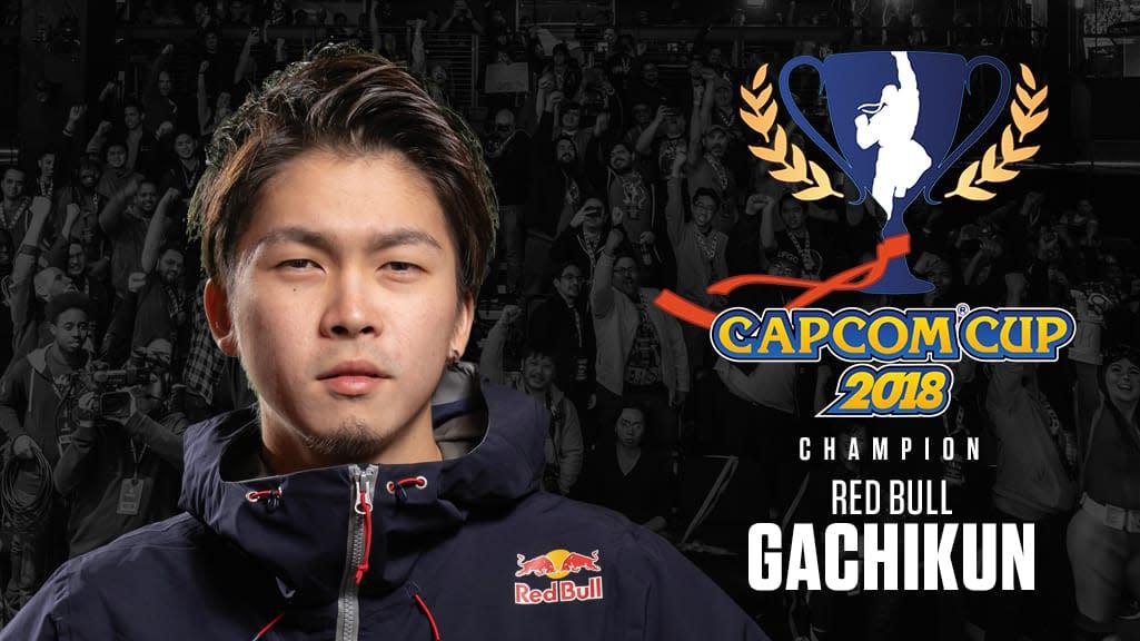 2018卡普空盃冠軍Gachikun將會直接晉級2019卡普空盃。