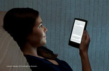 Bookeen Cybook Odyssey HD FrontLight joins the lit e-reader fray