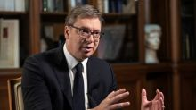 Serbia's Vucic plays down hopes for quick political deal with Kosovo