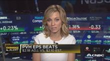 PVH and Guess? second quarter earnings