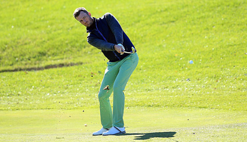 Golf: Europa-Tour: Heisele weiter im oberen Drittel