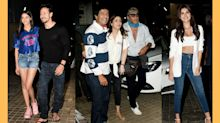 Tiger, Tara, Ananya watch 'Student of the Year 2' with family