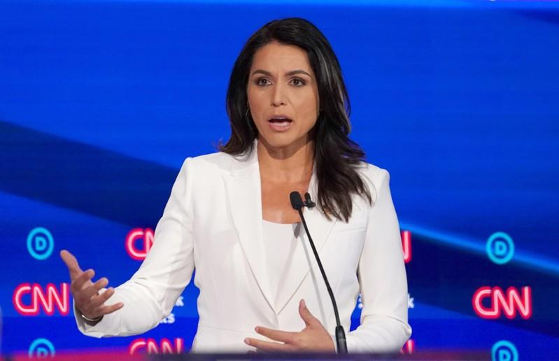 Eyeing presidency, Democratic hopeful Gabbard will not seek re-election to Congress