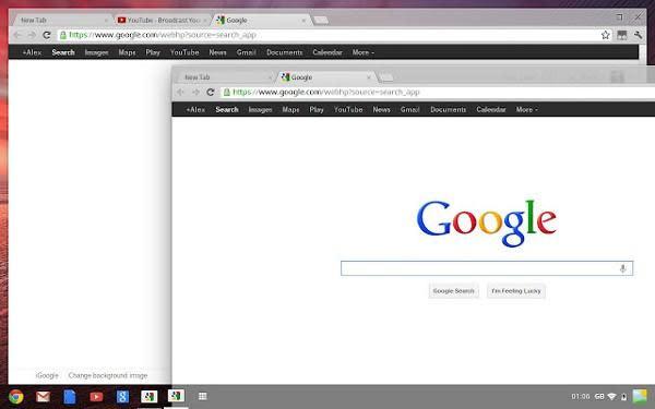 Chrome OS update pushes Aura desktop UI to devs