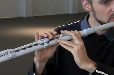3D printed concert flute rapidly prototypes sound (video)