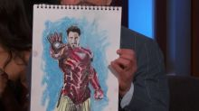 'Avengers: Infinity War' cast made these self-portraits for charity: Guess who's the most popular