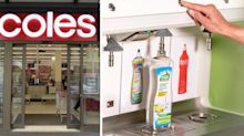 Coles shopper's clever refill idea for cleaning products
