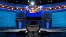 Stock markets retreat before US election debate