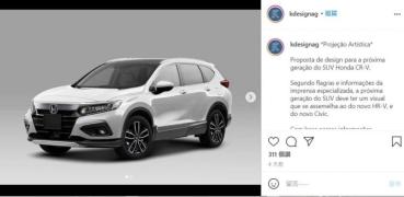 大改款 Honda CR-V 有望提前登場,首波外觀預想圖出爐!