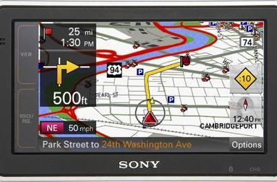 Sony updates nav-u GPS line with NV-U73T and NV-U83T