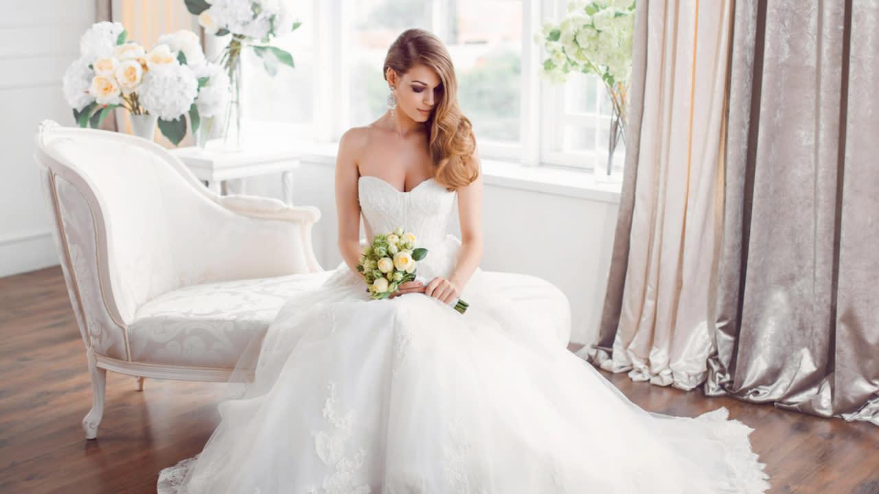 Vestiti Da Sposa Yahoo.Abiti Da Sposa Le Tendenze Per Il 2019 Video