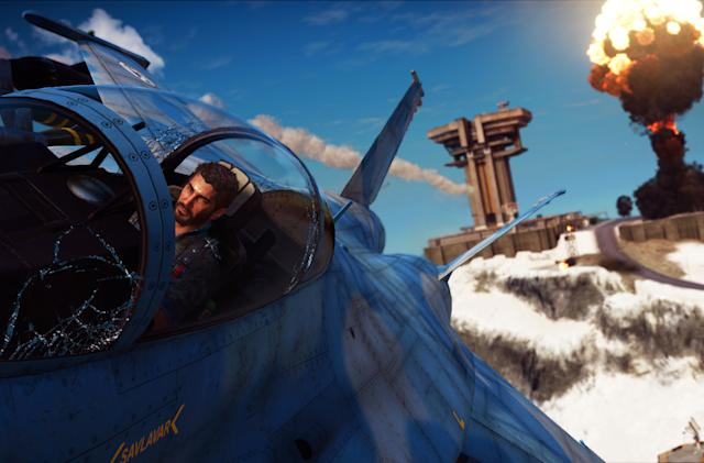 Playdate: We're playing with fire in 'Just Cause 3'