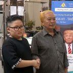 Trump, Kim Jong Un haircuts available at Vietnam barber shop