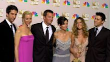 Courteney Cox shares a throwback group photo of the Friends cast - before they were famous