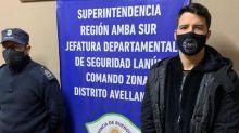 Trasladan a una cárcel al futbolista Alexis Zárate y estará 14 días aislado por prevención