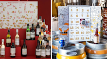 This year's best boozy advent calendars: Gin, beer, wine and whiskey