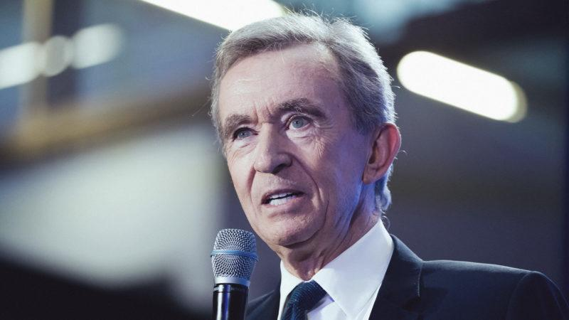 Louis Vuitton boss Bernard Arnault denies setting up a firm in Belgium to invest in crypto
