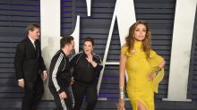 Melissa McCarthy and husband put comfort over couture in matching tracksuits for Oscars after party
