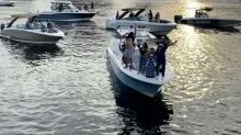 Tampa Bay Lightning Players Celebrate Stanley Cup Win With Flotilla Parade