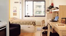 Moving into a dorm? Check out these smart ways to save space