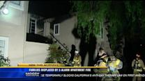 Families displaced by 2-alarm apartment fire in Oceanside
