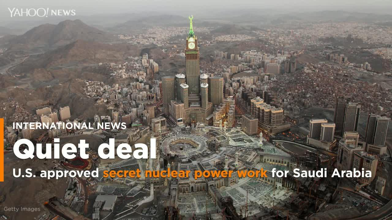U.S. approves 6 secret authorizations to sell nuclear ...