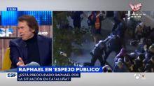 """Raphael se moja sobre este partido político: """"Yo desde luego no soy"""""""