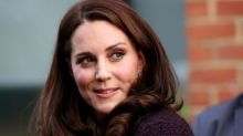 Kate Middleton recycles $495 maternity coat for Christmas party