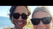 Gwyneth Paltrow and Brad Falchuk Enjoy a Beach Day as They Celebrate First Wedding Anniversary